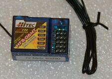 HFS-06MT 72 MHz FM Receiver HiTec Long Range Radio Control RC Single Conversion