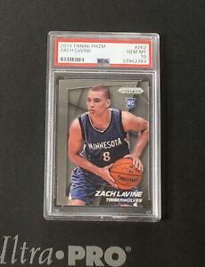 2014-15 Panini Prizm Basketball Zach Lavine Rookie #262 RC PSA 10