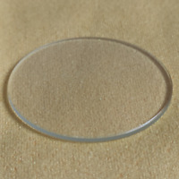 1pc 1.2mm Thick 40-45mm Double Dome Mineral Watch Glass Crystal