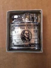 Vintage 1930's  $100 Dollar Bill Penguin Super Cigarette Lighter FREE SHIPPING