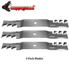 3 Pk Copperhead Mulch Blade fits Exmark 50' Quest 115-5059 115-5062 USA Made