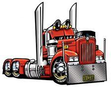CARTOON  BIG RIG SEMI TRUCK T-SHIRT #9081 KENWORTH HAULER