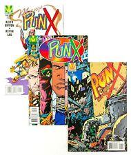 Punx #1, 2 + Manga Special (1995 Valiant) Unread issues! NM