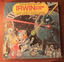 Irwin The Dynamic Duck – Irwin Strikes Back LP Sealed (1 cut corner) 1980