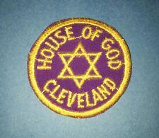 Vintage 1960's House Of God Cleveland Ohio Sew On Uniform Jacket Hat Patch A