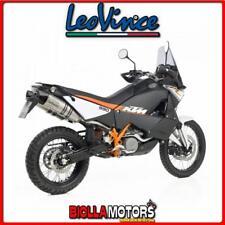 scarichi leovince ktm 990 lc8 adventure r 2012- lv one evo inox/carbonio 8430e