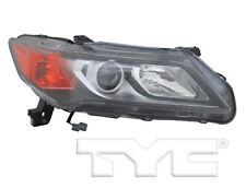 TYC NSF Right Side Halogen Headlight Lamp for Acura ILX 2013-2015