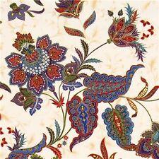 Pondicherry Paisley Chong-a Hwang Quilt Cotton Fabric 1/4 yd 22.5 cm off bolt