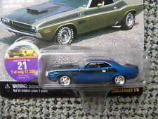1970 DODGE CHALLENGER T/A #21     1998 JOHNNY LIGHTNING MUSCLE CARS U.S.A.  1:64