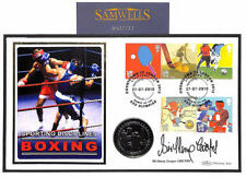 MS2711 2012 GB COIN COVER Signed *Sir Henry Cooper* OLYMPICS Benham FDC BOXING