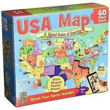 MasterPieces USA Map Jigsaw (0705988112072)