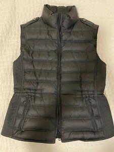 Authentic Burberry Brit 'Cranstead' Down Vest in Black - Size M
