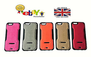 New Luxury Soft Shock & Stand Cover PU Leather Case For Samsung & iPhone Mobiles