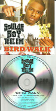 SOULJA BOY Bird Walk w/ INSTRUMENTAL & ENHANCED VIDEO TST PRESS PROMO CD single