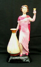 Kevin Francis Ceramics Charlotte Rhead Art Deco Figure by Andy Moss
