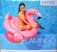 Flamingo RideOn Badetier Aufblastier Reittier Luftmatratze 142 x137  INTEX 57558
