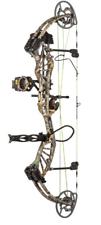 Bear Archery enfoque HC rth arco compuesto 60# RH Camuflaje Realtree Borde