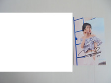 Suzy Bae Miss A 4x6 Photo Korean Actress KPOP autograph signed USA Seller 33
