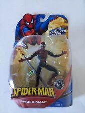 2008 Hasbro Marvel Legends McFarlane Super Poseable Spider-Man Dark Version Rare