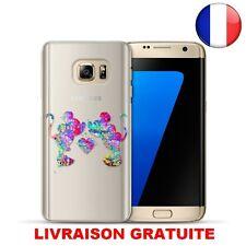 ★★★ Coque Plastique Rigide Housse Etui SAMSUNG S8 MICKEY MINNIE LOVE DISNEY ★★★
