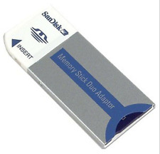 32Mb Memory Stick Duo w/Adapter for Older F505 F55K F707 or HandyCam Dcr-Sr45