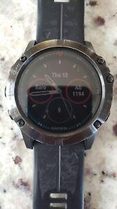 Garmin fenix 5x sapphire GPS smart watch