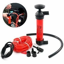 Car Manual Hand Gas Oil Liquid Syphon Transfer Pump Siphon Pump Kit Hose Home US