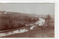 THE CANAL, LINSLADE: Bedfordshire postcard (C6822).