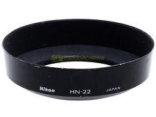 Nikon paraluce HN-22 a vite 62mm. per Micro 60/2,8, Micro 55/2,8. Originale.
