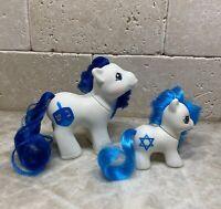 G1 Style Hanukkah Pony Custom Hqg1c - Dreidel & Lil' Star / Holiday