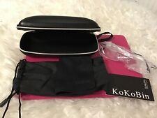 Kokobin Rimless Reading Glasses Super Light Weight Titanium Eyewear +1,black