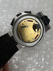 Movado 800 Series 84 C5 1896.1 White Chronograph Men's Watch Rubber Strap