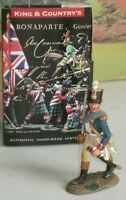 KING AND COUNTRY NA 229 FRENCH INFANTRY OFFICER MARCHING mint boxed 1/30 SCALE