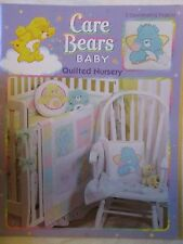 Care Bears QUILT & BABY NURSERY QUILTED FULL SIZE PATTERN BOOK Leisure Arts 3636