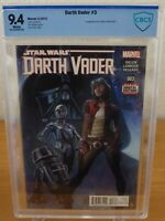 Star Wars: Darth Vader #3 (CBCS 9.4) 1st Appearance of Doctor Aphra