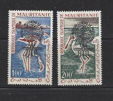 MAURITANIA - C14a-C15a - MNH - 1962 - ANTI-MALARIA O/P- TY I