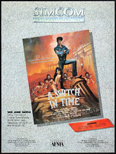 NORMAN'S AWESOME EXPERIENCE / A SWITCH IN TIME__Orig. 1983 Trade AD promo_poster