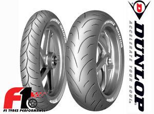 Coppia Gomme Moto Dunlop Sportmax Qualifier 120/70ZR17 (58W)+180/55ZR17 (73W) 4G