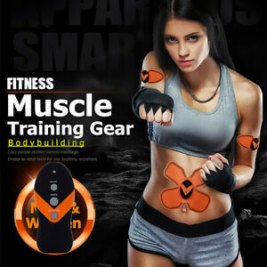 Smart Muscle Training Gear ABS EMS Body Exercise Stimulator Fitness Belt