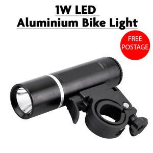 1W LED Aluminium Bike Cycle Light Lamp Bright