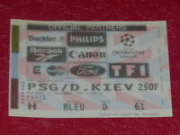 [COLLECTION SPORT FOOTBALL] TICKET PSG / D. KIEV 2 NOVEMB 1994 Champion's League