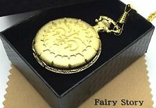 Fairy Story Pandora Hearts Oz Motif Cosplay Pocket Watch with Cross & box Japan