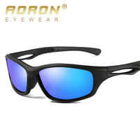 Mens Outdoor TR90 Polarized Sports Sunglasses for Running Cycling Fishing Bike
