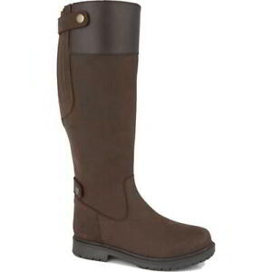 Woodland Harper Womens Ladies Waterproof Riding Equestrian Country Boot Size 4-8