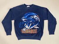 Vintage 90s Denver Broncos Lee Sport Crew Neck Sweatshirt Mens Medium USA Made