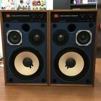 JBL 4312M Compact 3 Way LoudSpeaker Speaker Set Blue Line Harman from Japan