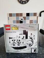 LEGO IDEAS STEAMBOAT WILLIE 21317 DAMAGED BOX BRAND NEW SEALED RETIRED SET