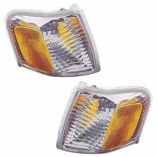 Pair (Left & Right) Corner Lights Fits 2001-2003 Ford Explorer Sport, Sport Trac