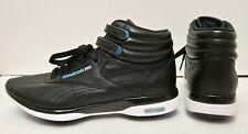 NIB! 7 Reebok Classic Freestyle Hi Black Leather Easytone High Top Aerobic Shoes