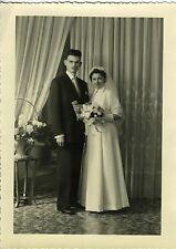 PHOTO circa 1950  Mariage  WEDDING  VESOUL  scène de genre GIRARDOT